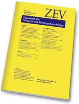 ZEV - Zeitschrift für Erbrecht und Vermögensnachfolge 2009